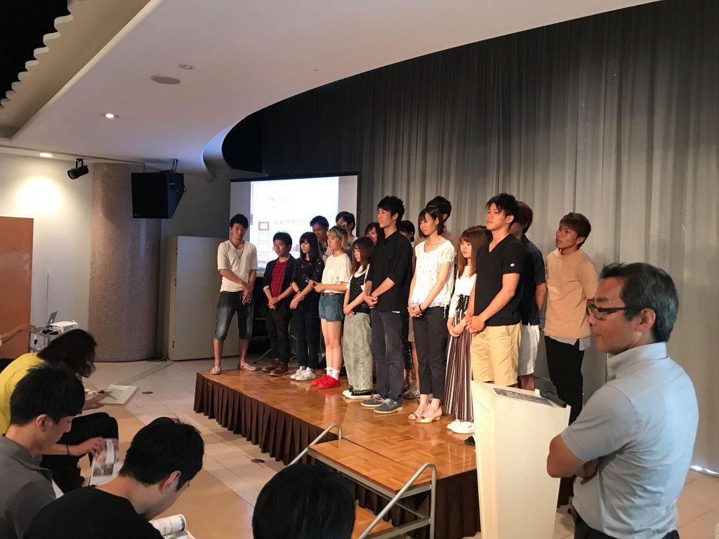 佐賀大生による嬉野振興プラン発表会